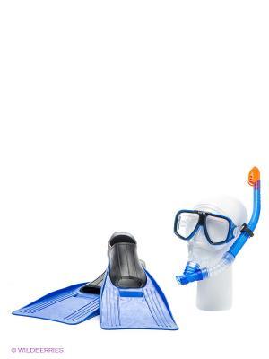 Плавательный набор Intex. Цвет: синий
