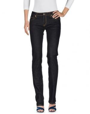 Джинсовые брюки BALLANTYNE. Цвет: синий