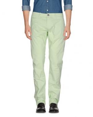 Повседневные брюки SIVIGLIA. Цвет: светло-зеленый