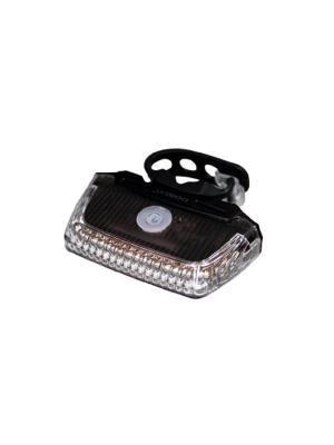 Передние габаритные огни с белыми светодиодами повышенной яркости Dosun. Цвет: черный