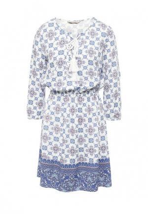 Платье Sela. Цвет: белый
