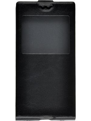 Флип-кейс Huawei P8 skinBOX. Цвет: черный