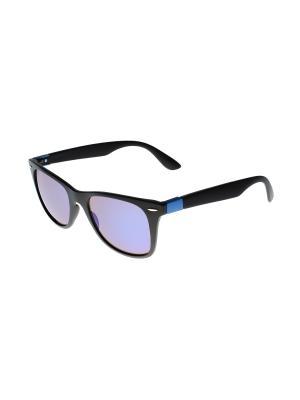 Солнцезащитные очки Gusachi. Цвет: черный, коричневый, синий