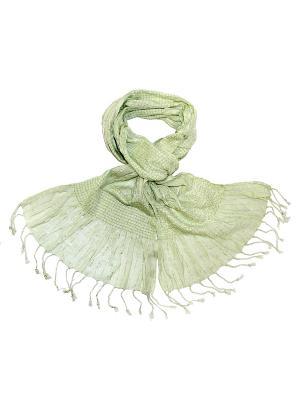 Платок Ethnica. Цвет: светло-зеленый
