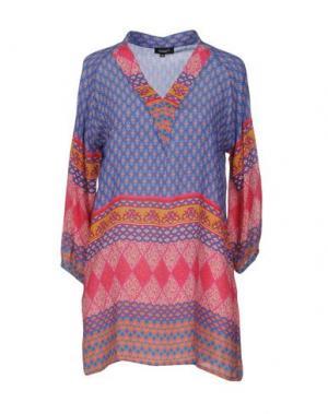 Блузка TOLANI. Цвет: синий