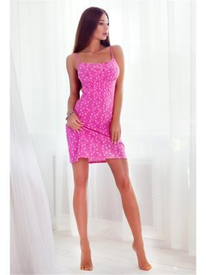 Ночная сорочка Анатель. Цвет: розовый