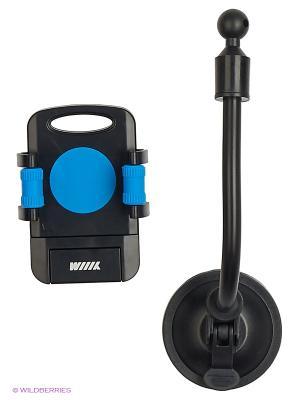 Держатель телефона/смартфона HT-WIIIX-02Nbu на длинной штанге WIIIX. Цвет: черный