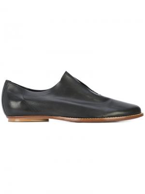 Slip-on loafers Zero + Maria Cornejo. Цвет: чёрный