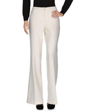Повседневные брюки QL2 QUELLEDUE. Цвет: слоновая кость