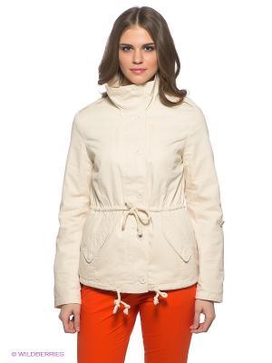 Куртка People. Цвет: кремовый