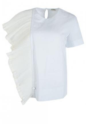 Блуза NOLO. Цвет: белый