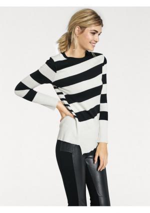 Пуловер Rick Cardona. Цвет: экрю/черный