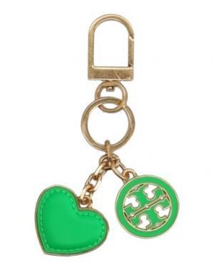 Брелок для ключей TORY BURCH. Цвет: зеленый