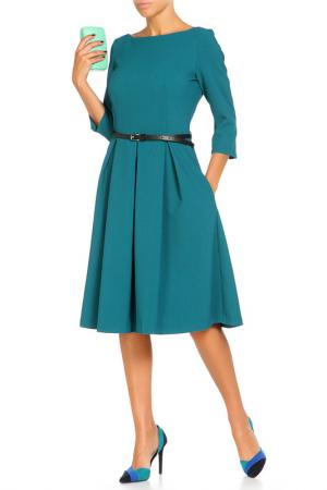 Платье с ремнем Argent. Цвет: зеленый