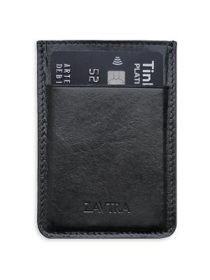 Минималистичный кошелек ZAVTRA. Цвет: черный