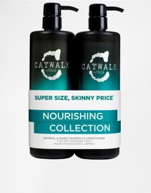 Tigi Catwalk Два средства ограниченной серии по уходу за волосами с овсяными хлопья. Цвет: овес и мед