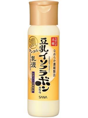 Увлажняющее и подтягивающее молочко с ретинолом изофлавонами сои, 150 мл Sana 425561 PROMO. Цвет: белый