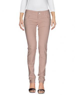 Джинсовые брюки 2W2M. Цвет: голубиный серый