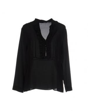 Блузка .TESSA. Цвет: черный