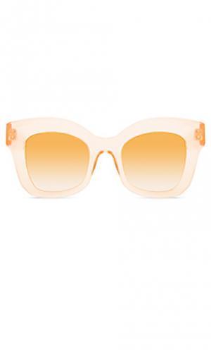 Солнцезащитные очки dauphine KREWE du optic. Цвет: беж