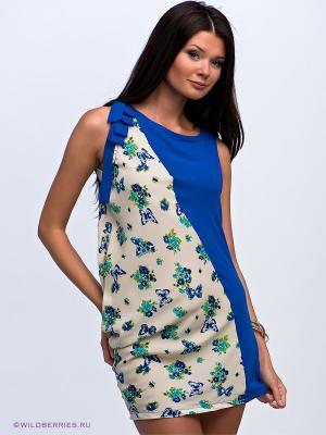 Платье-туника Alphamoda. Цвет: синий