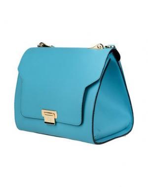 Рюкзаки и сумки на пояс BRAINTROPY. Цвет: бирюзовый