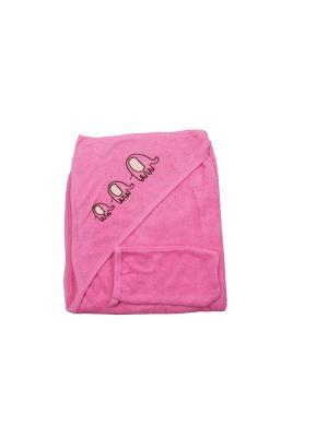 Набор для купания Клякса. Цвет: розовый