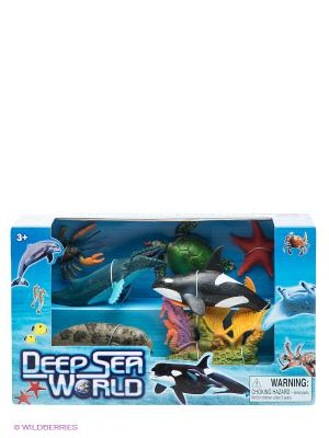 Набор Морские животные Happy Kin. Цвет: синий