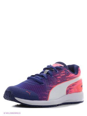Кроссовки FAAS 300 v4 Jr Puma. Цвет: фиолетовый, розовый