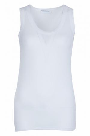 Майка Costume National. Цвет: белый
