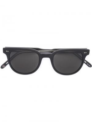 Солнцезащитные очки Angelus Garrett Leight. Цвет: чёрный