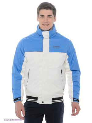 Куртка Stonecast. Цвет: белый, черный, голубой