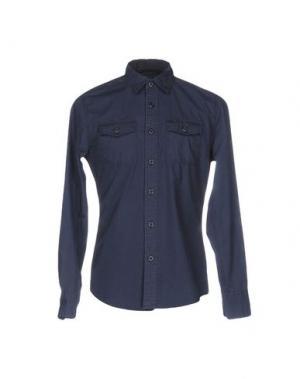 Pубашка CLARK JEANS. Цвет: темно-синий