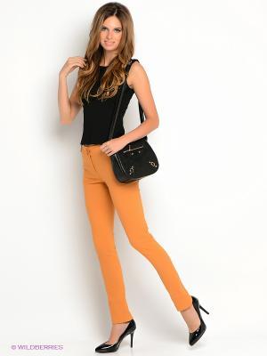 Брюки SISTE'S. Цвет: оранжевый