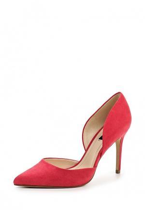 Туфли Mango. Цвет: розовый