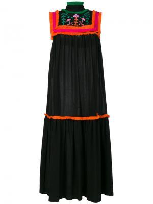 Marusa dress Veronique Branquinho. Цвет: чёрный