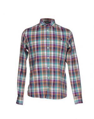 Pубашка JAGGY. Цвет: бирюзовый