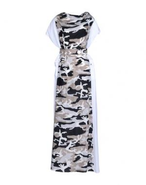 Длинное платье JC de CASTELBAJAC. Цвет: белый