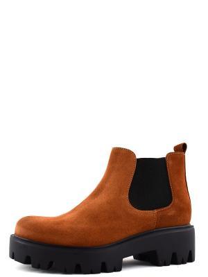 Ботинки BERG. Цвет: рыжий