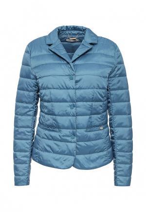 Куртка утепленная Zarina. Цвет: синий