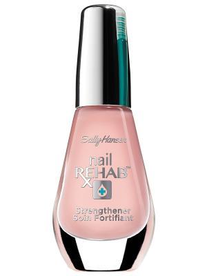 Средство для восст-я очень поврежденных ногтей Nail rehab strengthener 10 мл SALLY HANSEN. Цвет: бледно-розовый