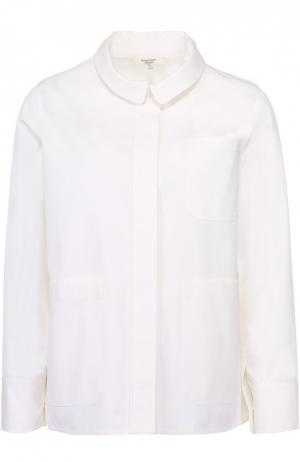 Жакет прямого кроя с накладными карманами Atlantique Ascoli. Цвет: белый
