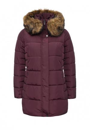 Куртка утепленная Geox. Цвет: фиолетовый