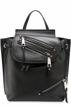 Кожаный рюкзак Zip Pack Marc Jacobs. Цвет: черный
