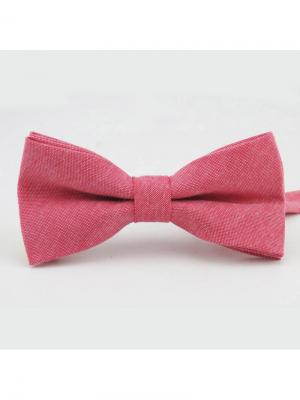 Галстук-бабочка Churchill accessories. Цвет: кремовый