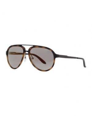 Солнечные очки CARRERA. Цвет: темно-коричневый