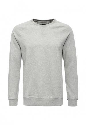 Свитшот Burton Menswear London. Цвет: серый