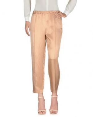 Повседневные брюки FABRIZIO LENZI. Цвет: телесный