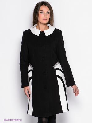 Пальто Malinardi. Цвет: черный, белый