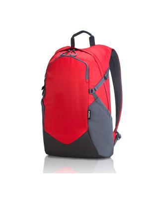 Рюкзак для ноутбука 15.6 lenovo. Цвет: красный